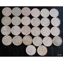 50 Centavos 1983 Se Vende El Lote De 26 Monedas