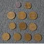Moneda Monedas Antiguas Argentinas Lote Por 12 1978 - 1989