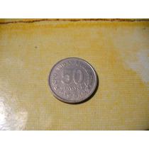 50 Centavos Argentina 1954 Monedas Antiguas