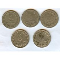 Argentina Lote Monedas 5 Ctvos. Antiguas