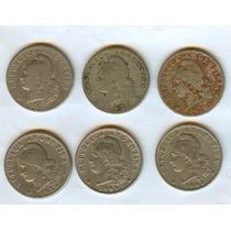 Argentina Lote Monedas Antiguas 0.20 Usadas