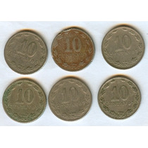 Argentina Monedas 10 Ctvos. Antiguas