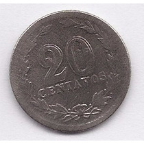 Argentina, Moneda 20 Centavos De 1915 - Cj#66- Cuproníquel