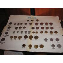 Coleccion 50 Monedas Argentinas 1944 -1990 Muy Completa