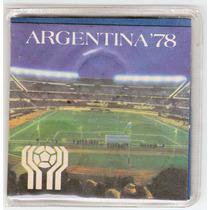 Argentina, Blister De 3 Monedas Mundial 78 Acuñacion De 1978