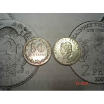 Niquel 50 Centavos 1941 Unico Año Excelente !!!
