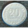 20 Centavos De 1951 Canto Irregular - Excelente
