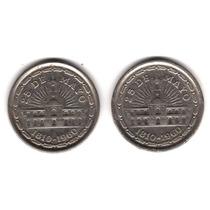 Moneda Argentina 1 Peso 1960 Janson Variante Nueva 1 Linea