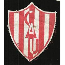 * Antiguo Escudo En Tela Cau Club Atletico Union 8x7