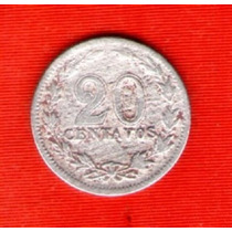 Moneda Argentina 20 Ctvos. 1897