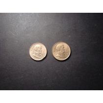 Argentina 5 Y 10 Pesos Bicentenario G Brown Mirala !!