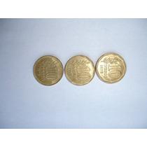 Lote De 3 Monedas Argentinas De $10 - 1976-77-78
