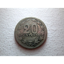 Moneda Argentina 20 Centavos 1915 Boedo Capital