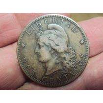 Moneda Argentina 2 Centavos 1883 Patacon Ref (a 66)