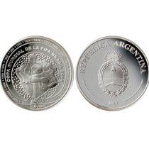 Bcra Brasil 2014 Moneda De Plata Agotada Estuche Certificado