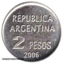 Moneda Defensa De Los Derechos Humanos $ 2 Pesos S/ Circular