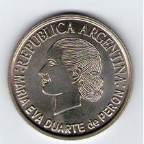 Moneda De 2 Pesos Evita