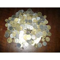 1 Kilo De Monedas Argentinas + Moneda 2 Pesos Borges 1999 !!