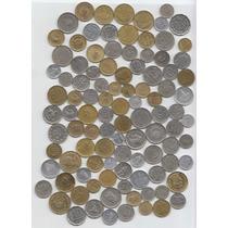 Argentina, Lote De 100 Monedas Diferentes