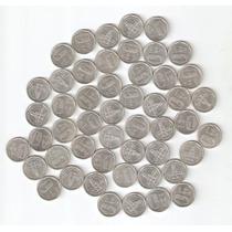 Lote 100 Monedas 1 Austral 1989 Variante Rara C/punto En 1