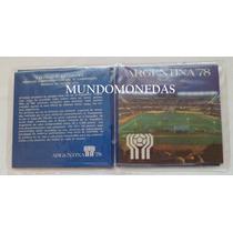 Estuche 6 Monedas Del Mundial 1978 Nuevo, Original