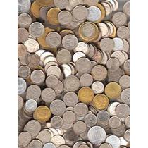 Interesante Lote De 1 Kilo De Monedas Argentinas !!!!!!!!!!!