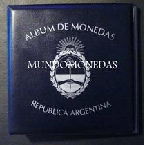 Album De Monedas Argentinas Vk Carpeta Para Cualquier Tomo