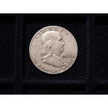 Moneda Medio Dolar Plata 900 Estados U. Eeuu 1962 D Half 1/2