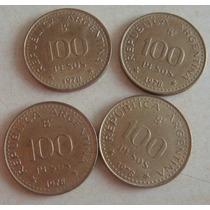 Monedas Argentina 100 Pesos 1978 Numismática Jose San Martin