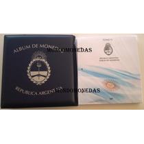 Album De Monedas Argentinas Vk Tomo 5 + Carpeta, 2007 A 2012