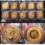 10 Monedas Zodiaco Lunar Chino Dragon 2012 Coleccion Hobby