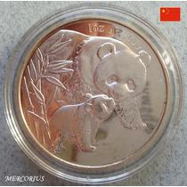 Mercorius- Moneda China Onza Panda De Plata Réplica Año 2004