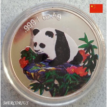 Mercorius - China Onza Panda Plata 999 Color Réplica De 1999