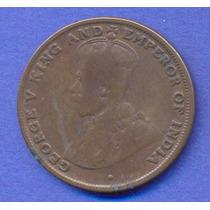 Hong Kong 1 Cent 1919 * Colonia Inglesa * George V *