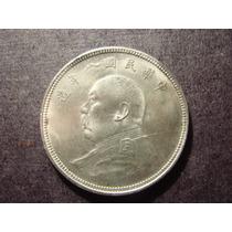 Un Dolar Plata República China Yuan Shi Kai Oferta Mirala!!!