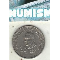 Filipinas Moneda De 25 Sentimos Año 1977 Km 208 - Sc-