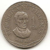 Filipinas 1 Piso 1976 * Jose Rizal *