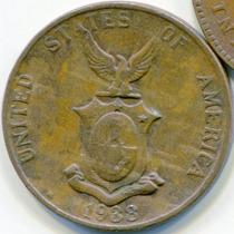 Filipinas 1 Centavo 1938 * Administracion De Estados Unidos