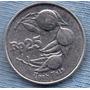 Indonesia 25 Rupiah 1995 * Nuez Moscada * Sin Circular *