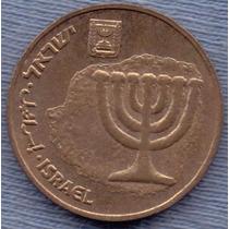 Israel 10 Agorot 1987 (5747) * Menorah *