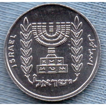 Israel 1 Nuevo Agorot 1982 (5742) * Menora *