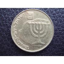 Israel - Moneda De 10 Agorot, Años 1985/2014 - Muy Bueno
