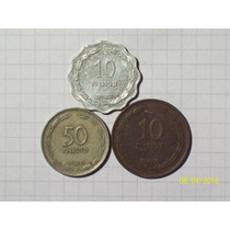 Israel Lote 3 Monedas Antiguas