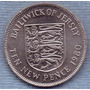Jersey 10 New Pence 1980 * Elizabeth Ii * Escudo *