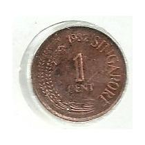 Singapur 1 Centavo 1982