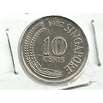 Singapur 10 Centavos 1982