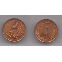 Singapur, Moneda De 1 Cent De Cobre, 1982- Sin Circular
