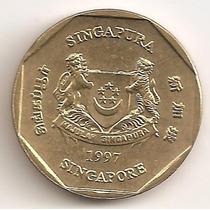 Singapur, Dollar, 1997. Sin Circular
