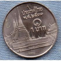 Tailandia 1 Baht 1988 * Gran Palacio * Rama Ix *