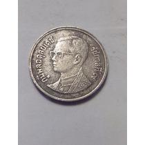 Moneda Tailandia 1 Baht Año 1998, Muy Escasa Por El Año